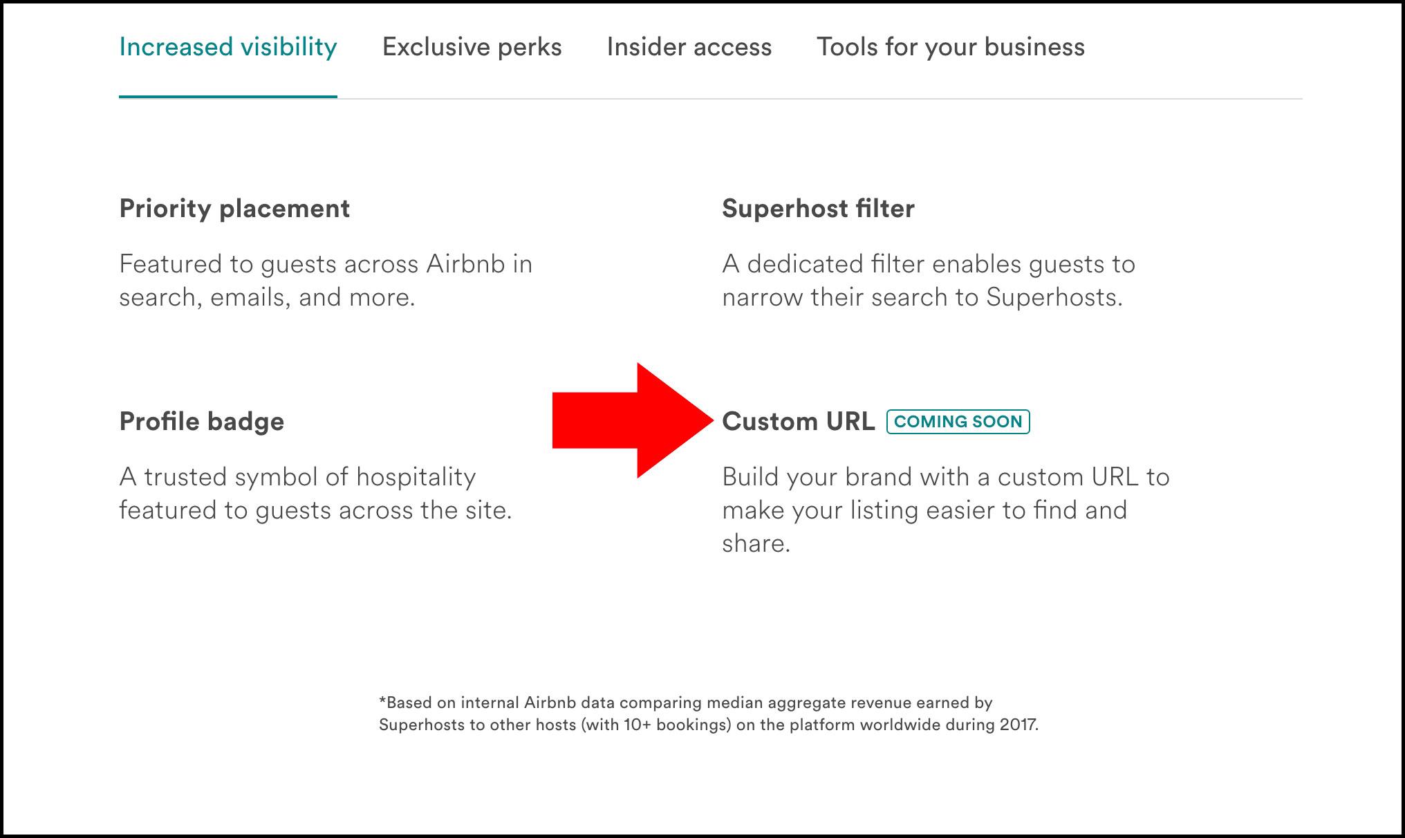 Αποτέλεσμα εικόνας για airbnb custom url
